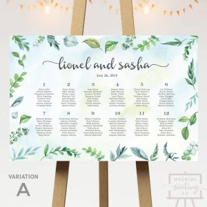 Alfresco Garden Seating Chart
