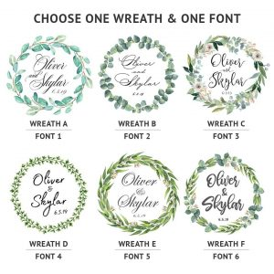 Wreath Choices