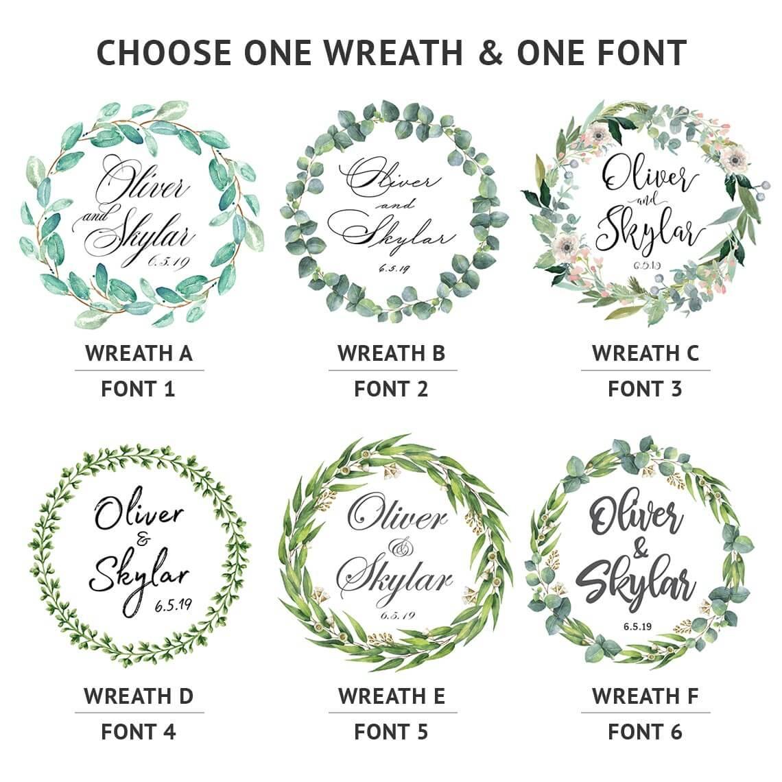 Wreath Choices
