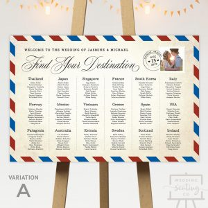 Destination Wedding Table Plan